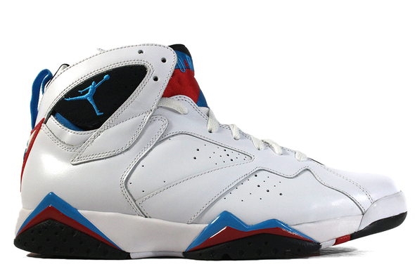 Air Jordan Retro 7s Wht/Orion Blu Basketball Shoe - ECtrendsetters