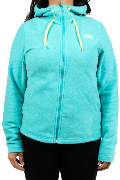 The North Face W Mezzaluna Pool Green Heather Hoodie