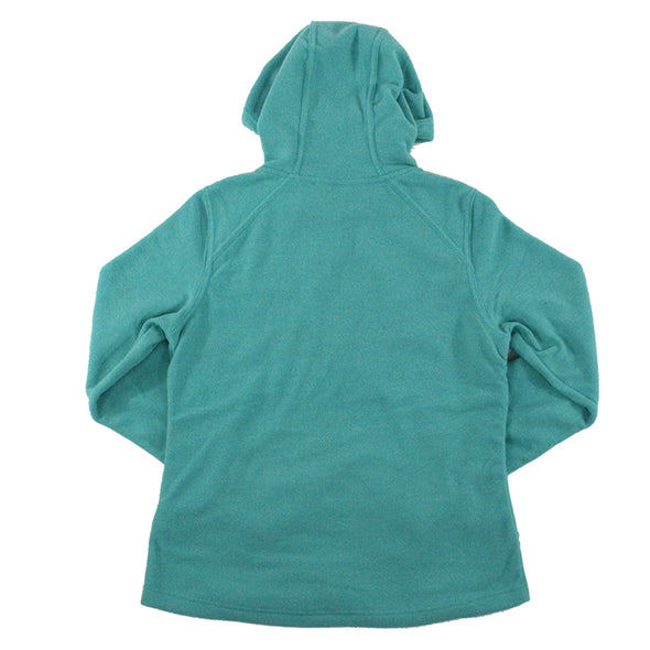 The North Face W Mezzaluna Pool Green Heather Hoodie - ECtrendsetters
