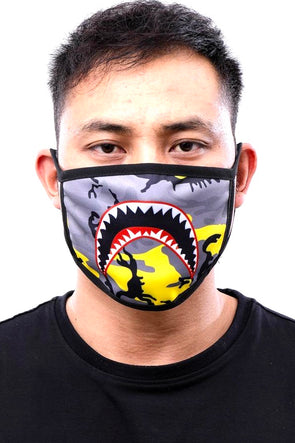 Hudson Nyc Sharkmouth Face Mask