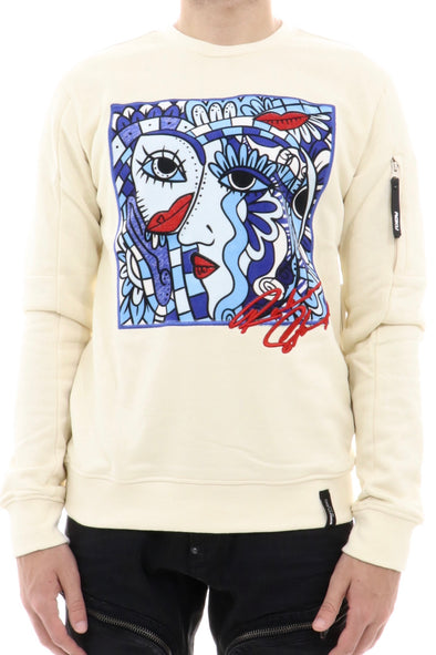 Roku Art Picture Crewneck Sweatshirt