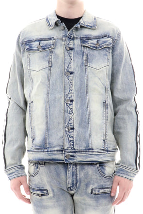 Kilogram Track Denim Jacket