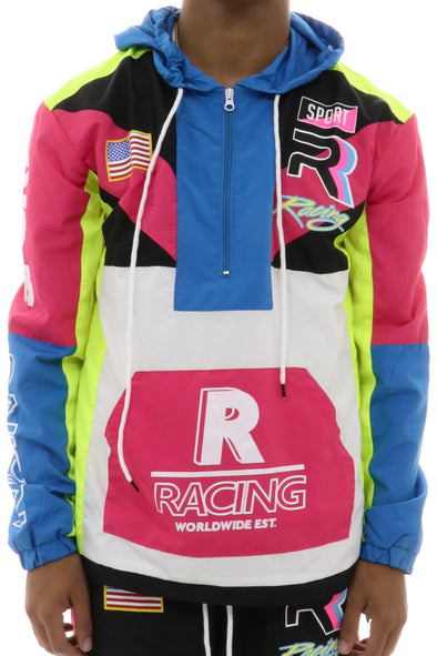 Rise As One Retro Racing Hoodie - ECtrendsetters
