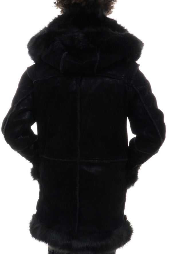 Jordan Craig Shearling All Over Fur Jacket - ECtrendsetters