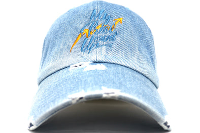 Point Blank My Price Went Up Denim Dad Hat