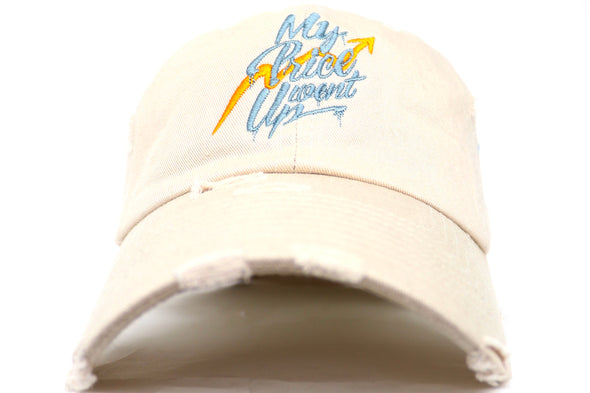 Point Blank My Price Went Up Dad Hat - ECtrendsetters