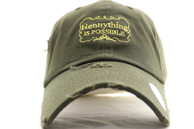 Hennything Is Possible Dad Hat