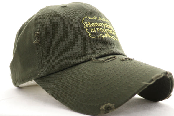 Hennything Is Possible Dad Hat - ECtrendsetters