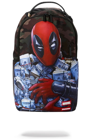 Sprayground Deadpool : Money Boy Backpack - ECtrendsetters