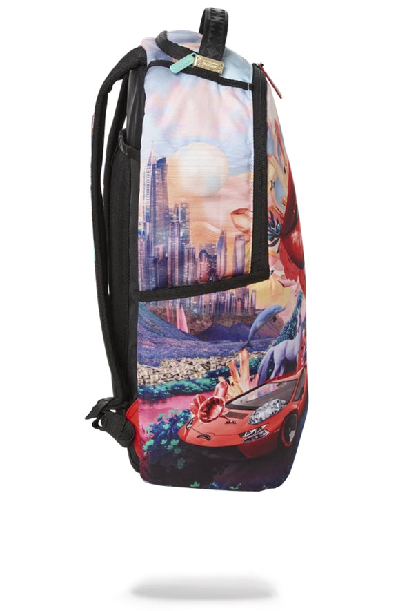 Sprayground Lips And Famous Backpack - ECtrendsetters
