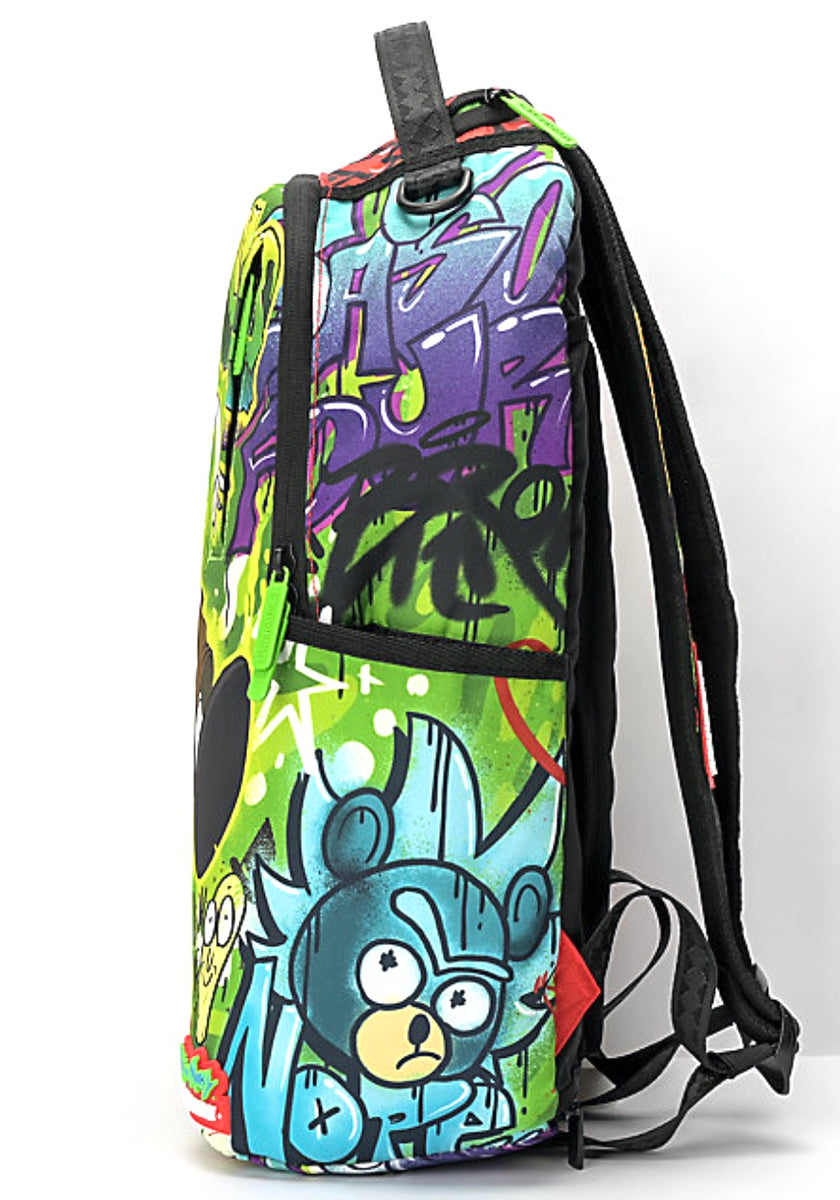 Sprayground Rick And Morty Genius Backpack Ectrendsetters