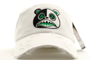 Baws Bear Money Green Scarface Dad Hat - ECtrendsetters
