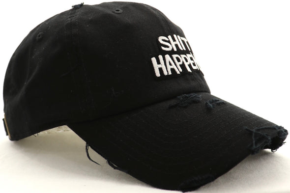 Shit Happens Dad Hat - ECtrendsetters