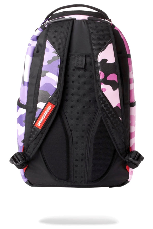Sprayground Split Camo Backpack - ECtrendsetters