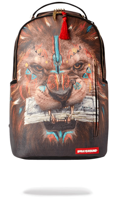 Sprayground AI CEO Lion Backpack