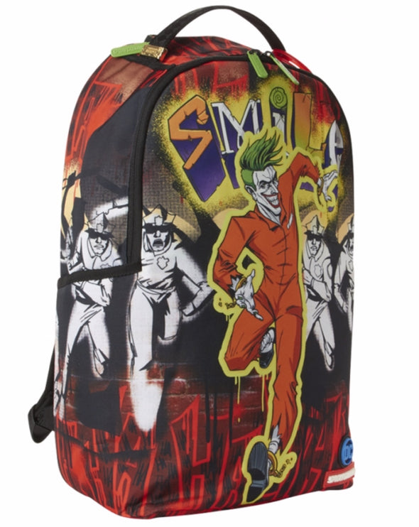 Sprayground The Joker : Cant Catch Me Backpack - ECtrendsetters