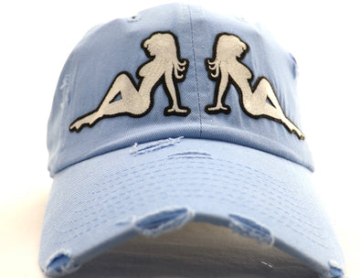Two Chick Dad Hat