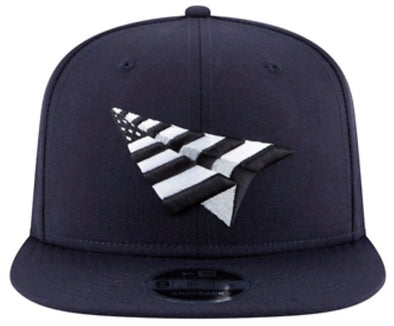 Paper Plane Grey Boy Crown Old School Snapback - ECtrendsetters