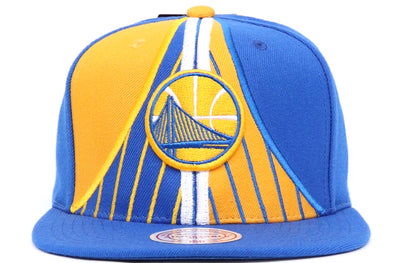 Mitchell & Ness Golden State Short Split Snapback