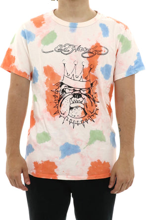 Ed Hardy Custom Work Bulldog T-Shirt