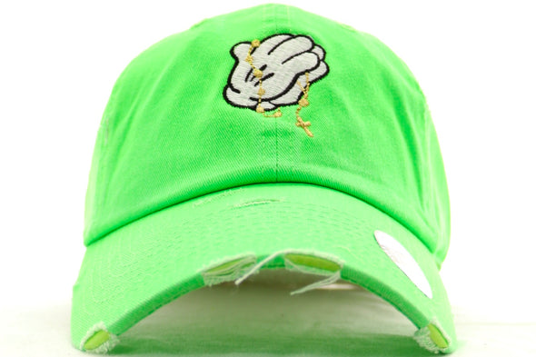 Mikey Praying Hands Dad Hat - ECtrendsetters