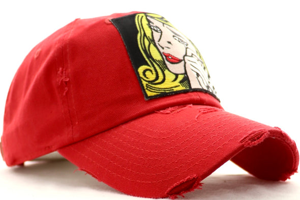 Crying Blonde Dad Hat - ECtrendsetters