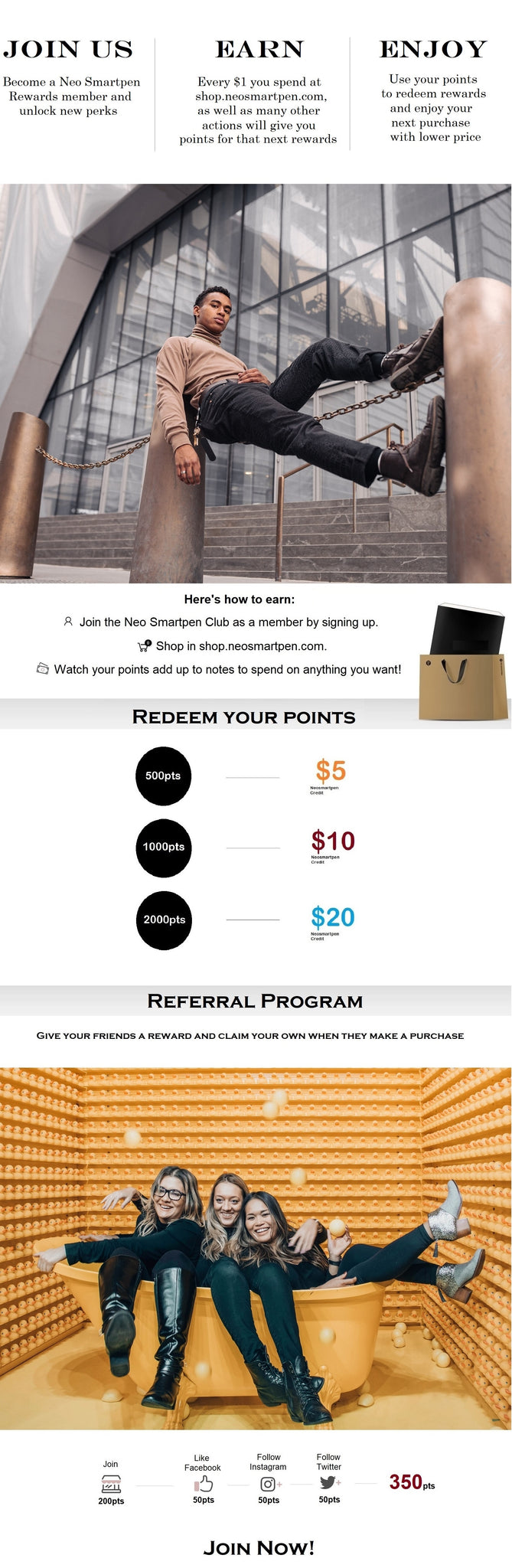 Neo Smartpen Reward Program