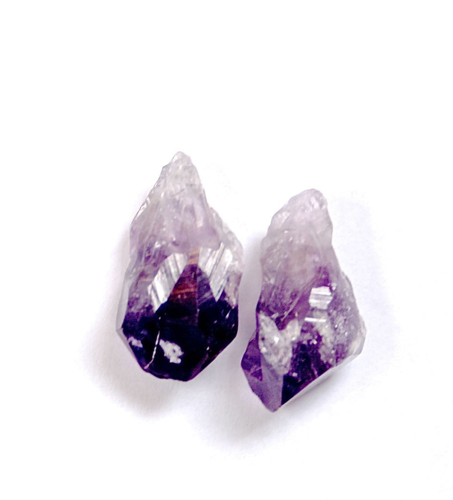 Drop style Amethyst earrings