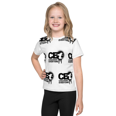 C.E.O Conquering Everyone With Brick Style Kids T-Shirt