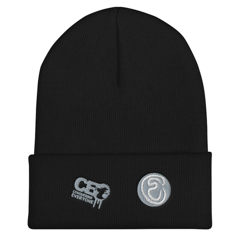 C.E.O Conquering Everyone One day at a time Cuffed Beanie