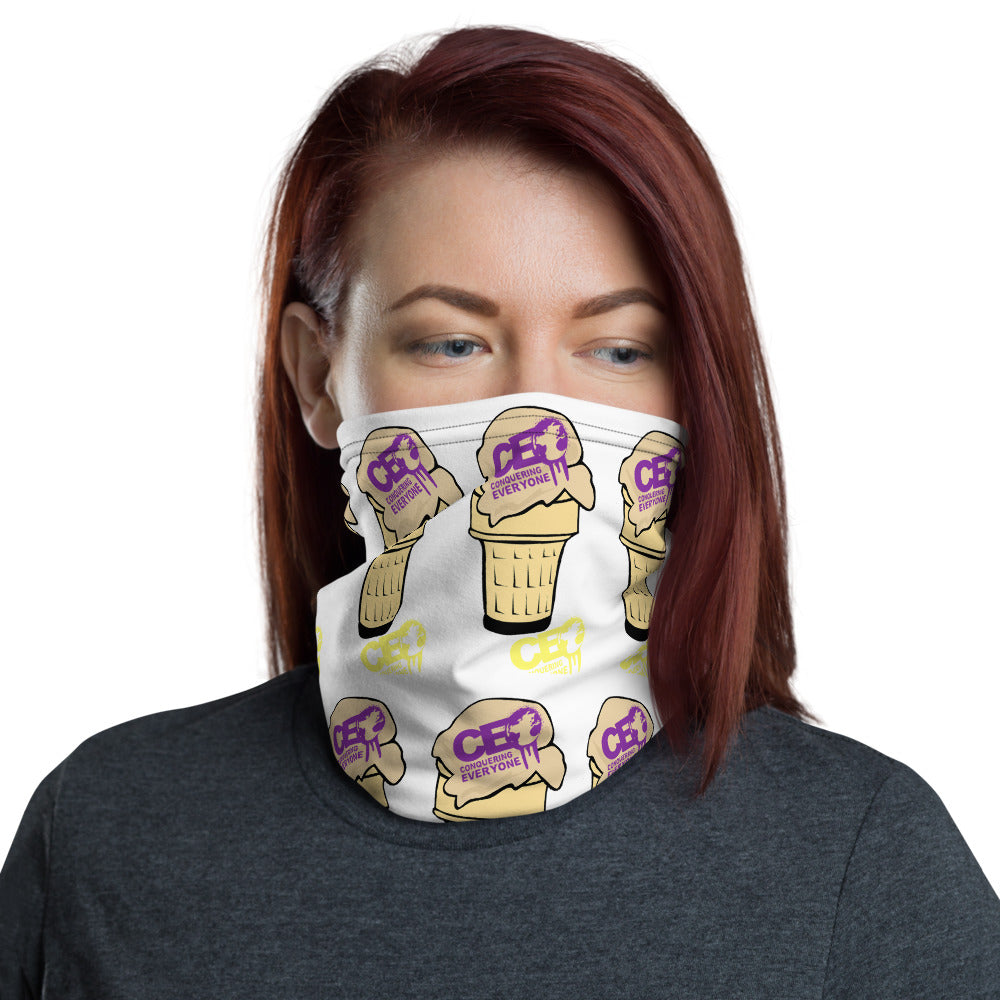 C.E.O Conquering Everyone With IceCream Neck gaiter