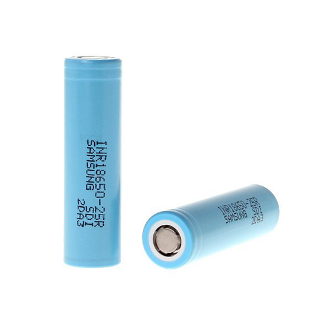SAMSUNG INR18650-25R 2500MAH HIGH-DRAIN BATTERY - 12C, 30A / Batteries / Status Wholesale & Distribution
