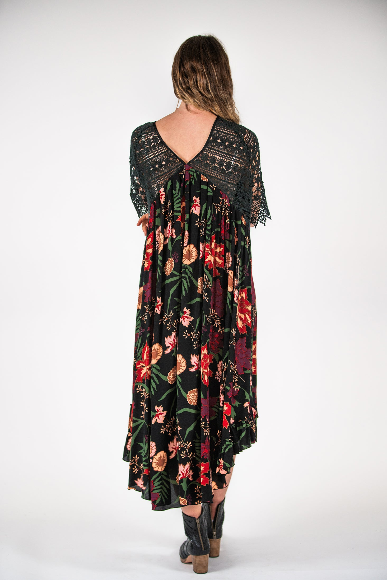 Lyndon Dress - Secret Garden Print