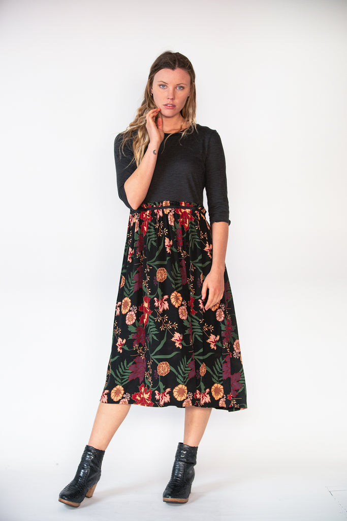 Ruby Dress - Secret Garden Print
