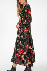 Frederick Street Dress - Secret Garden Print