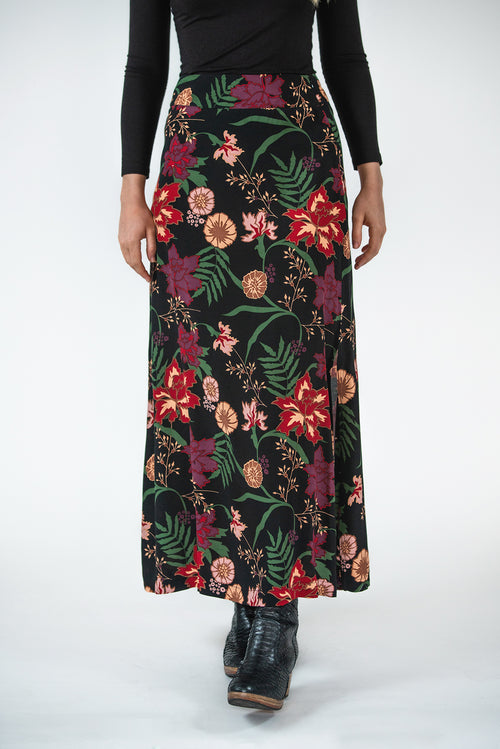 Apian Skirt - Secret Garden Print