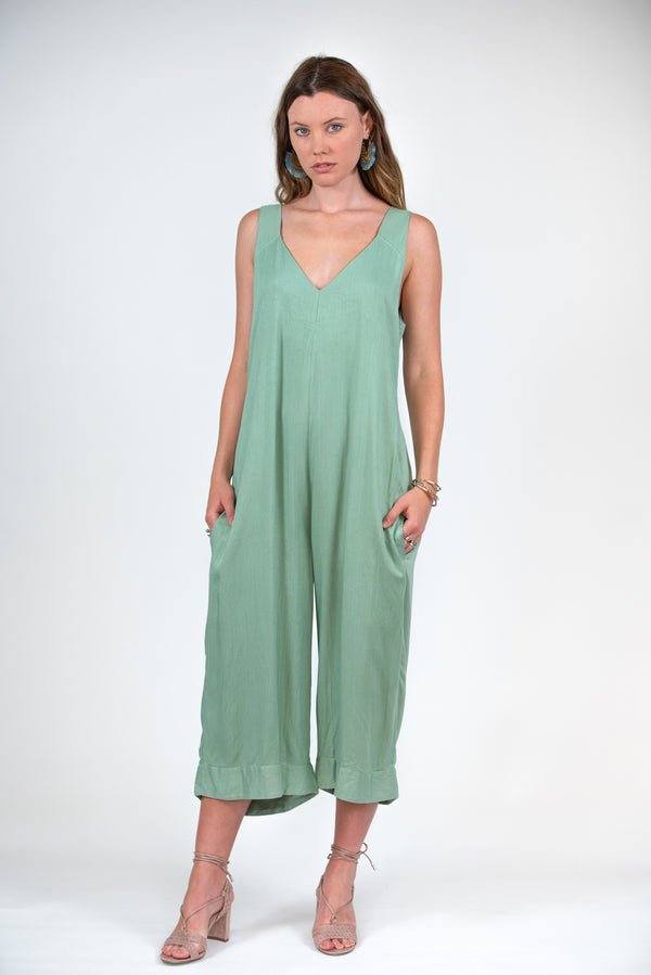 Mistle Jumpsuit - Mint
