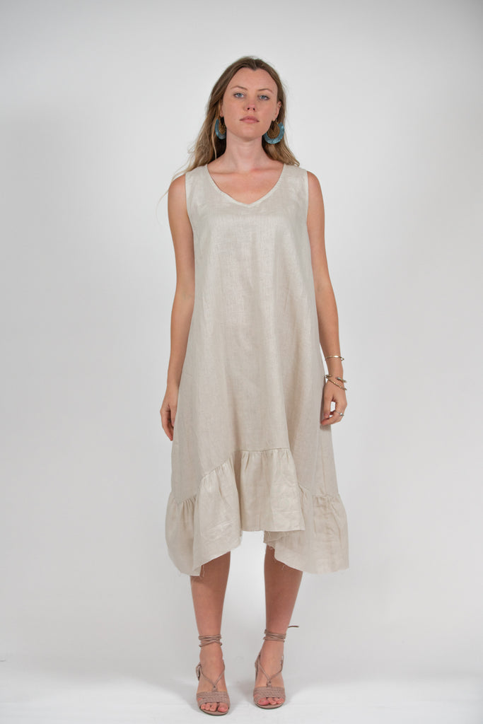 Sadie Dress - Sand