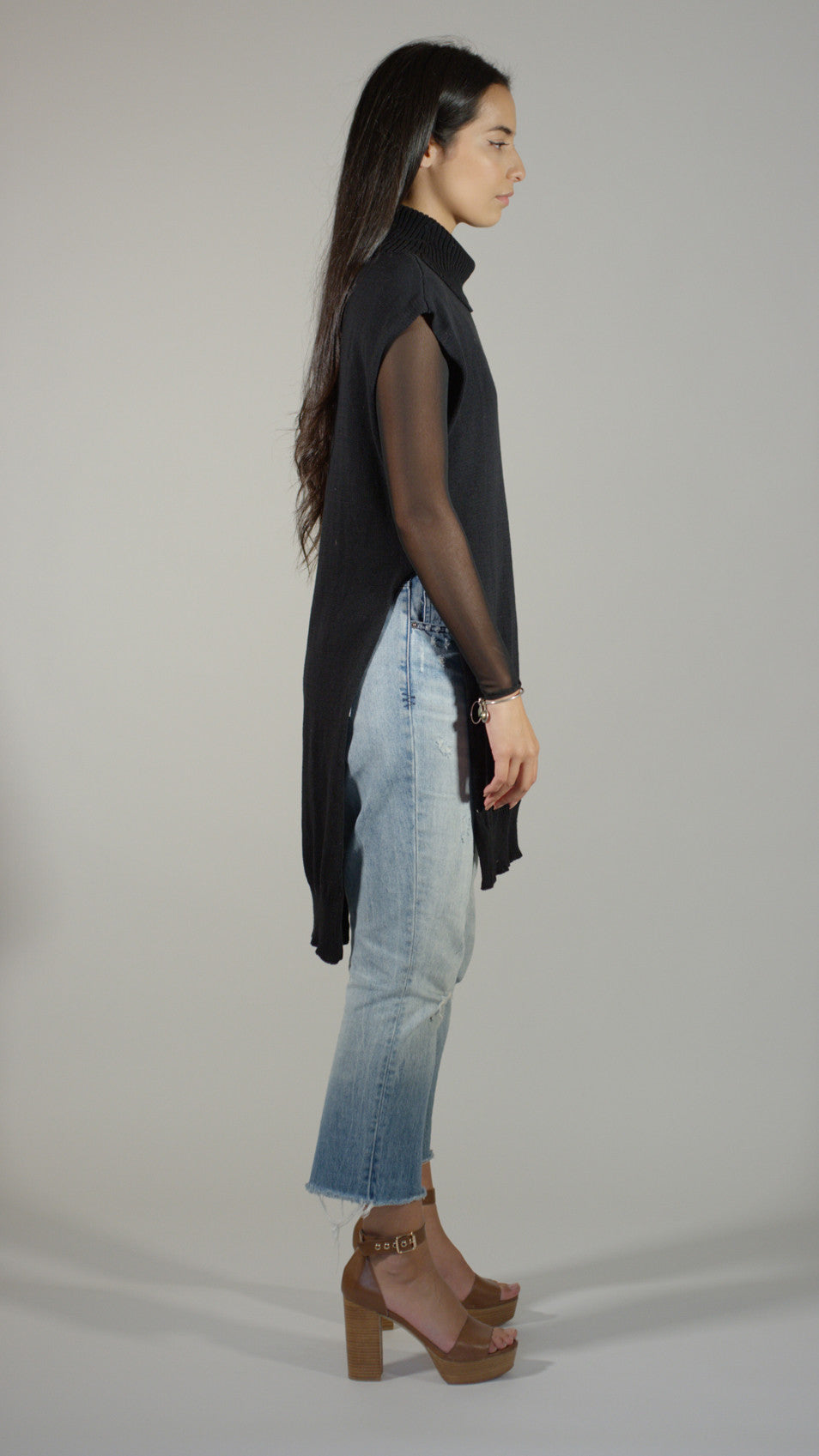 Knit Tunic - Black