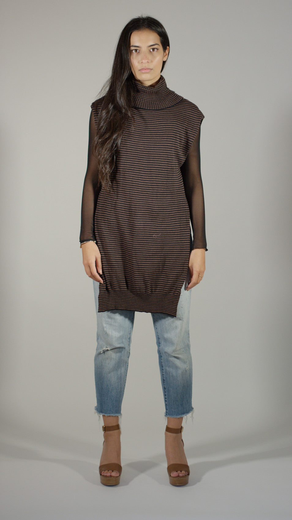 Knit Tunic - Stripe
