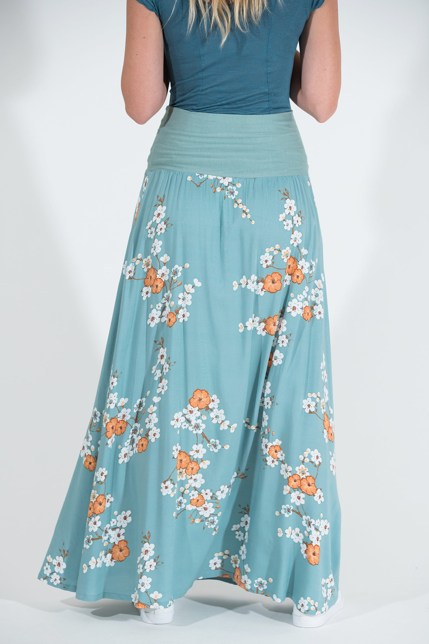 Poppy Skirt - Orange Cosmos