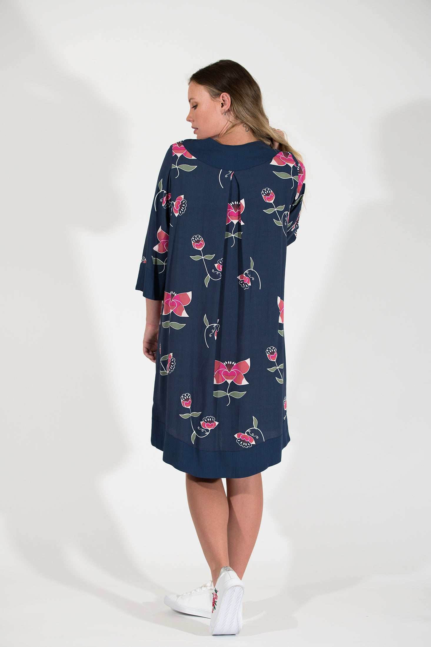 Posy Dress - Pink Lotus