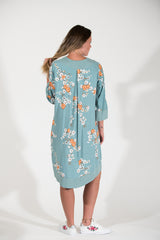 Bridget Dress - Orange Cosmos