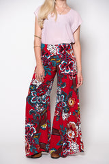 Dervish Pant - Red Print