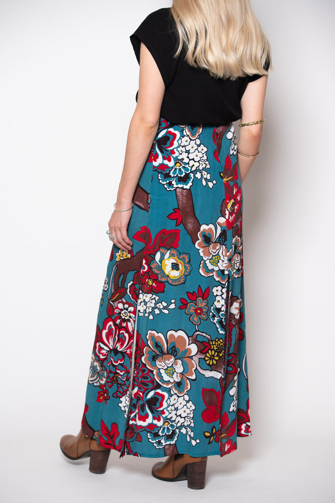Marrakesh Skirt - Blue print