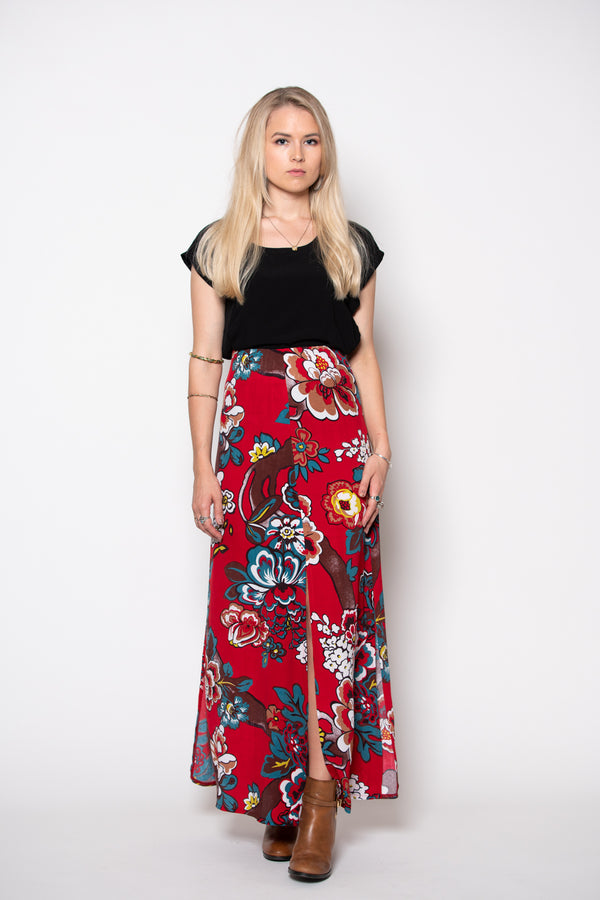 Marrakesh Skirt - Red print
