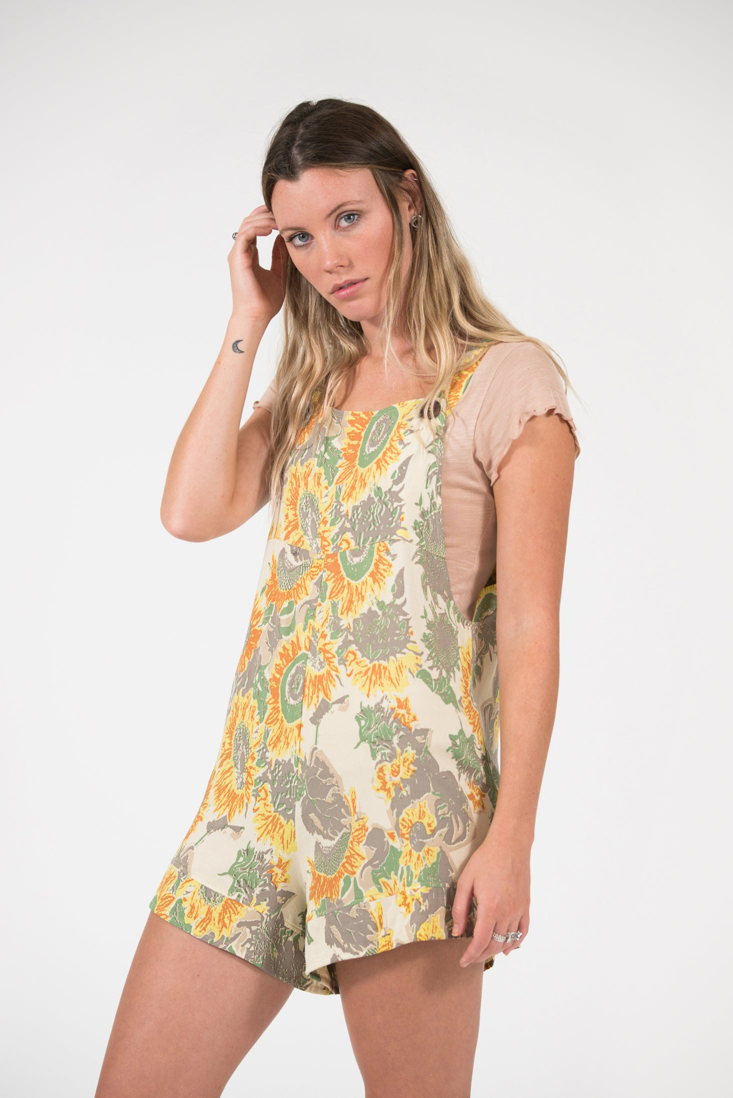 Head Over Heels Jumpsuit - Sunflower