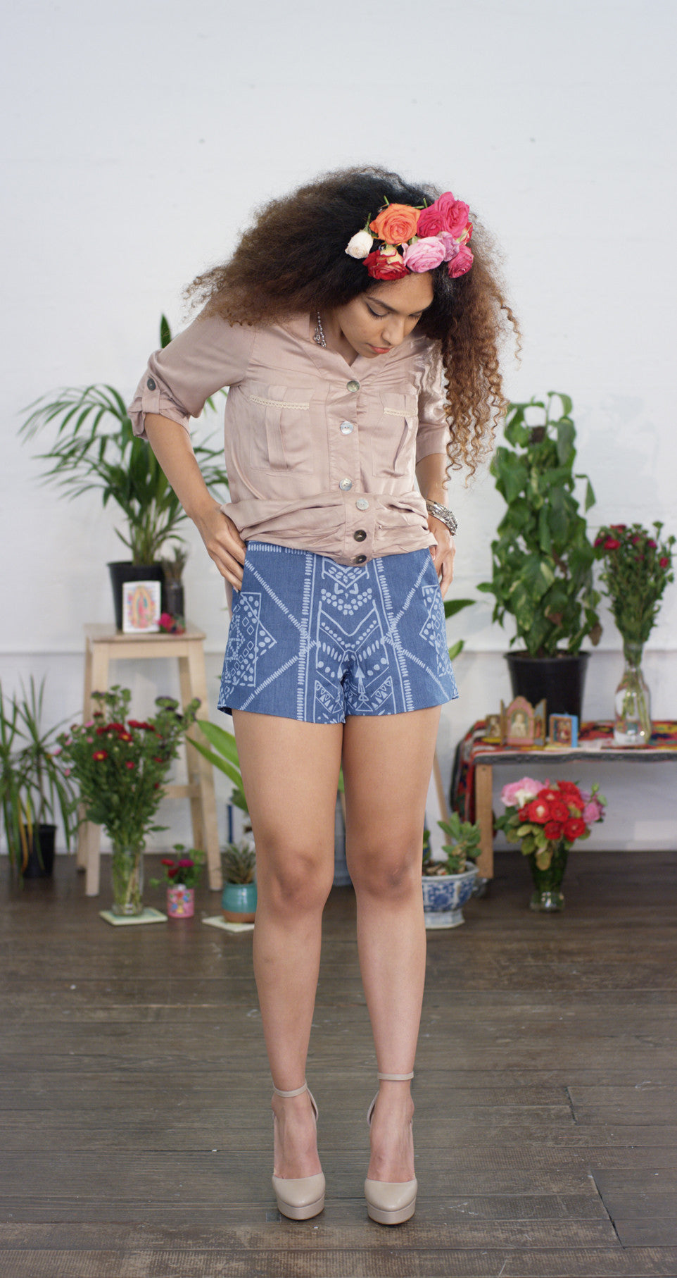 Amity Short - Tribal Denim