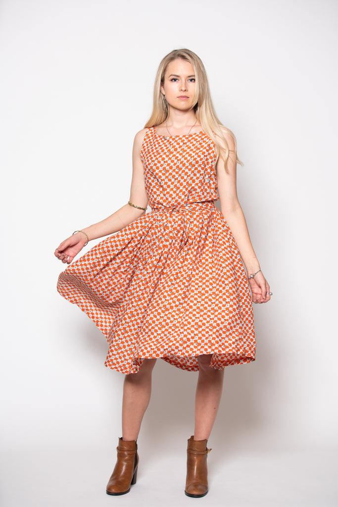 Isabella Dress - Little Pebble