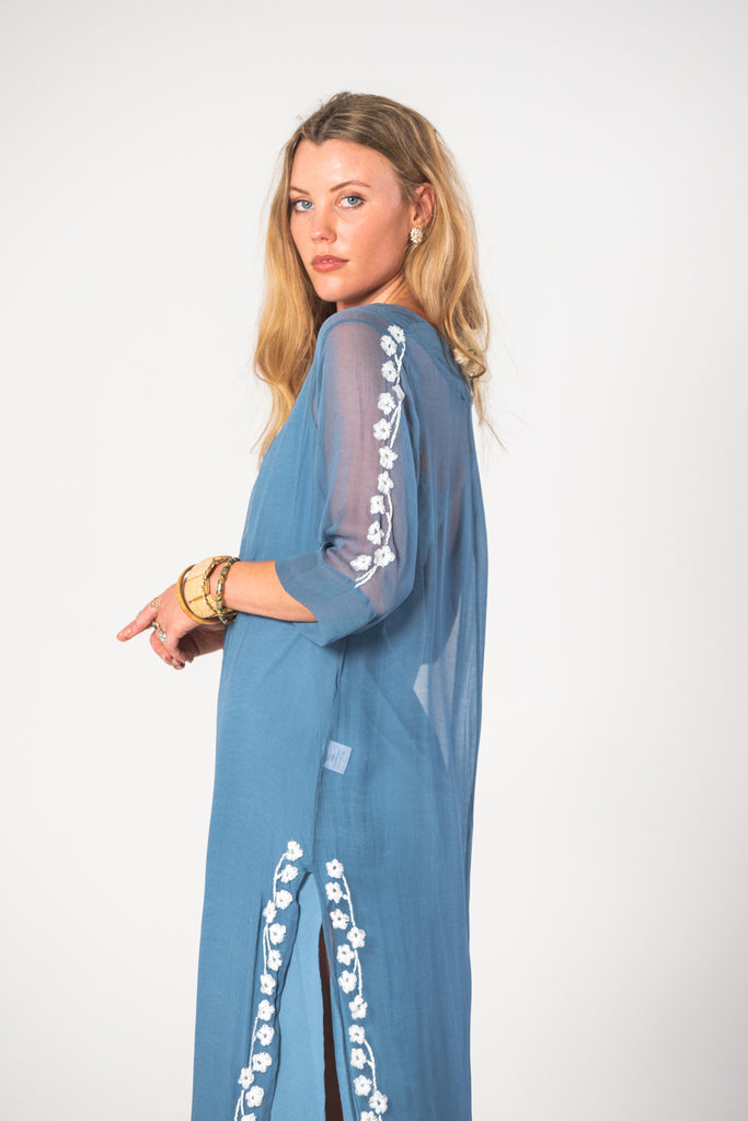 Thelma Tunic - Blue
